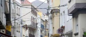 A rúa Féliz Ozámiz na actualidade.